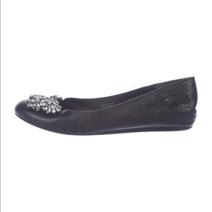 Vera Wang | 100% Auth Embellished Ballet Flats
